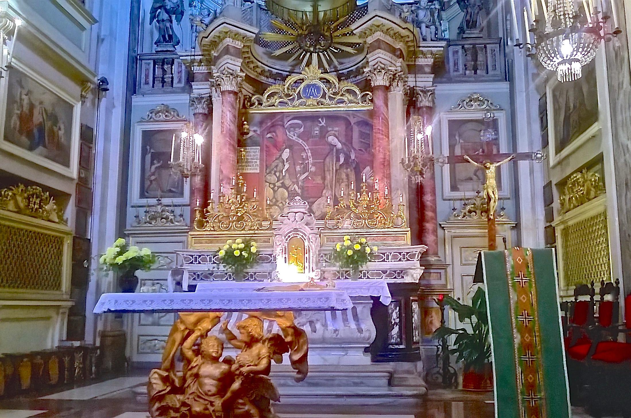 Altare SS Annunziata