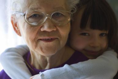 nonna e nipotina