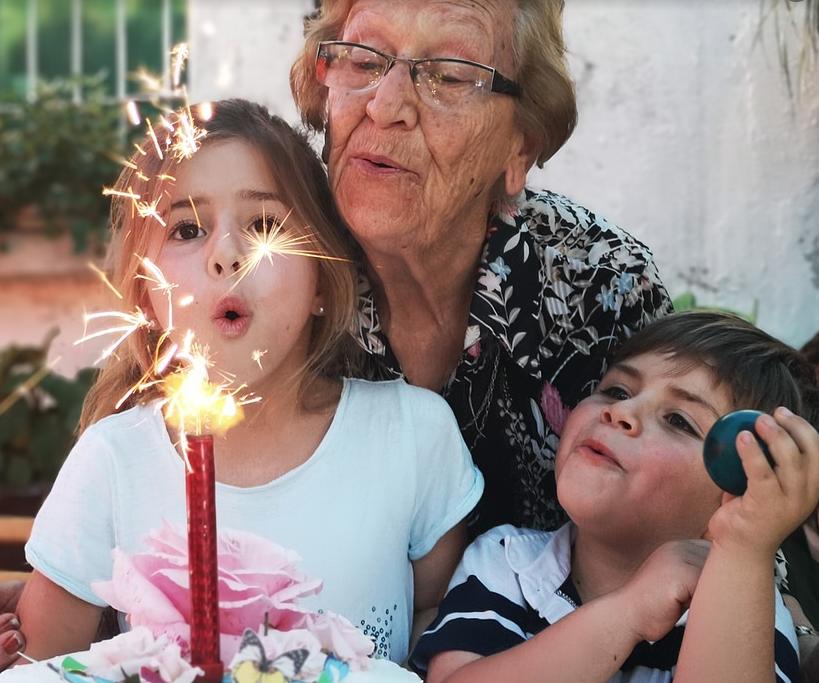 festa dei nonni al Santuario