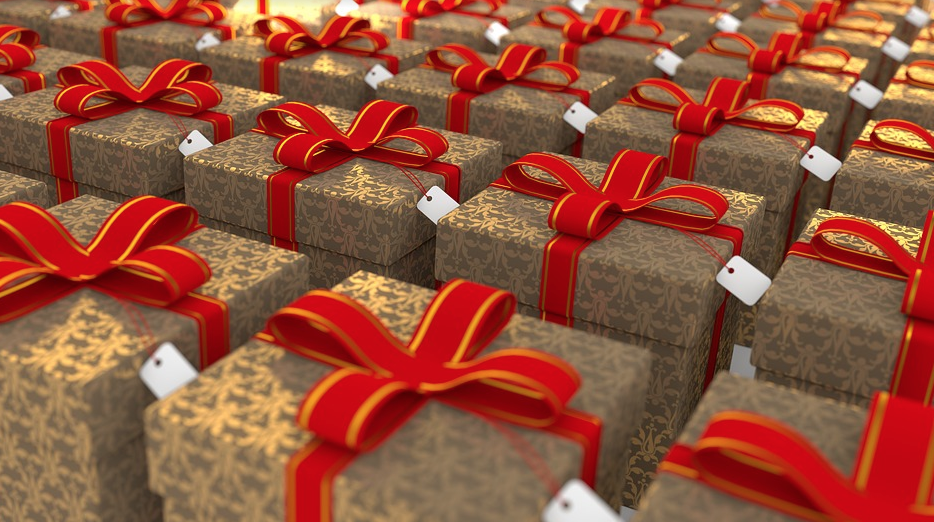 scatole per Natale