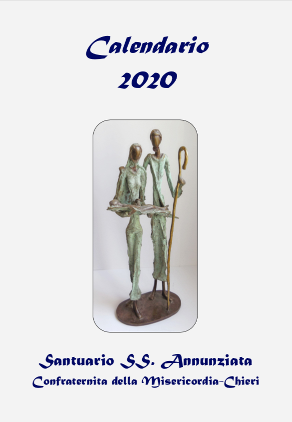 Copertina calendario 2020