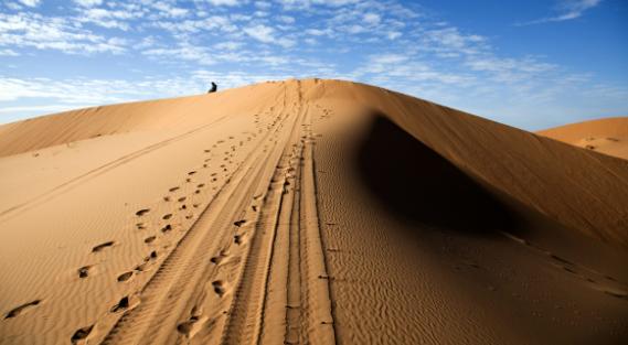 quaresima e deserto