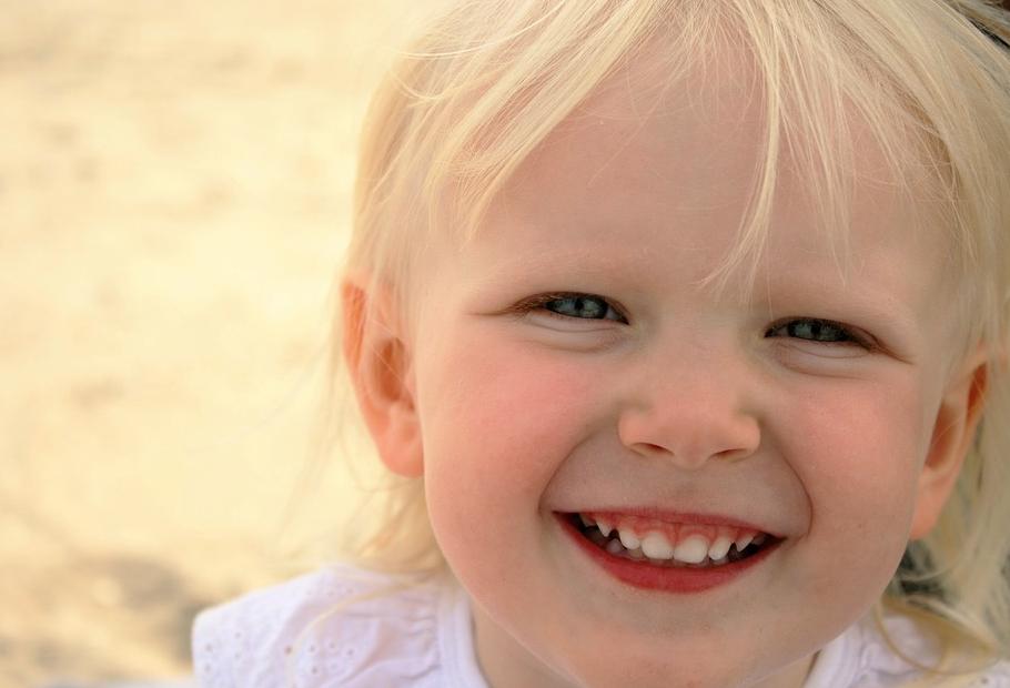 sorriso di bimba