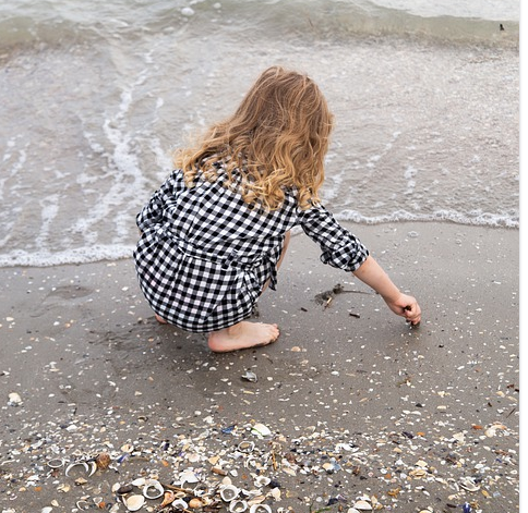 Anna e le stelle marina
